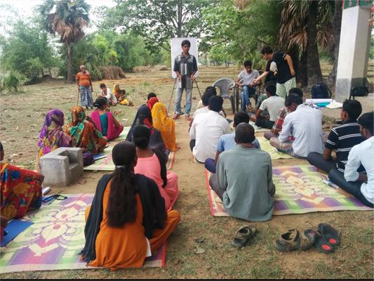 Overcoming barriers to female leadership Bihar_experiment_Outdoor