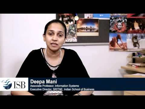 Deepa Mani, Associate Professor at ISB