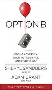 Option B Facing Adversity, Building Resilience and Finding Joy By Sheryl Sandberg, Adam Grant, Adam M Grant